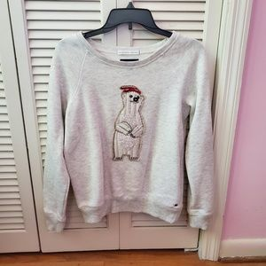 NWOT American eagle polar bear holiday sweater